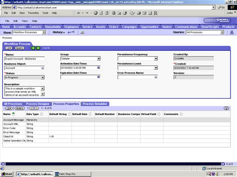 workflow process manager in siebel a using siebel workflows