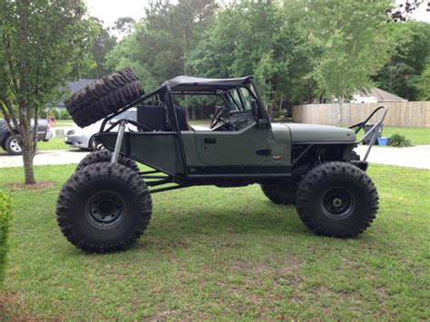 jeep rock crawler 1991 jeep wrangler rock crawler for sale photos
