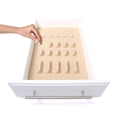 Customizable Drawer Organizer by This Unique Customizable Drawer Organizer Will Keep Your