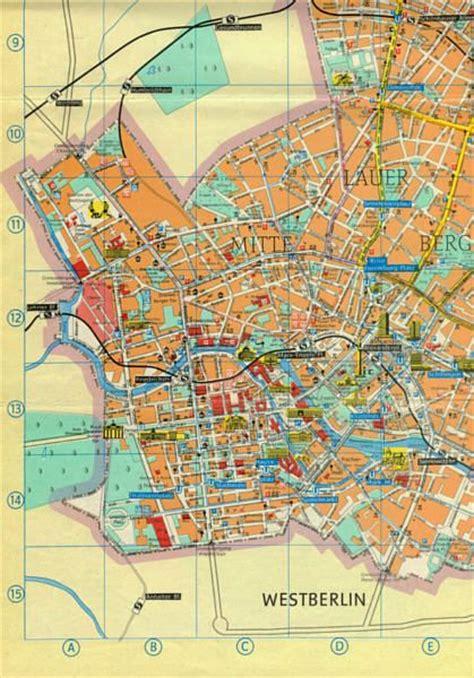 berlin wall map east berlin city map with berlin wall in 1984 berlin map