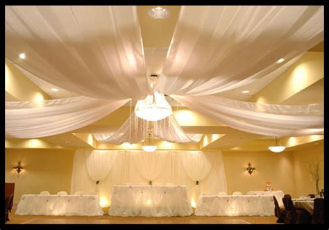draping fabric from ceiling luxurious fabric draping