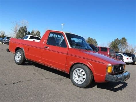 volkswagen rabbit truck 1982 purchase used 1982 volkswagen rabbit caddy pickup diesel 4