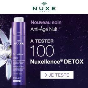Nuxellence Detox How To Use by Test Gratuit Soin Nuxellence D 233 Tox Nuit De Nuxe Avis
