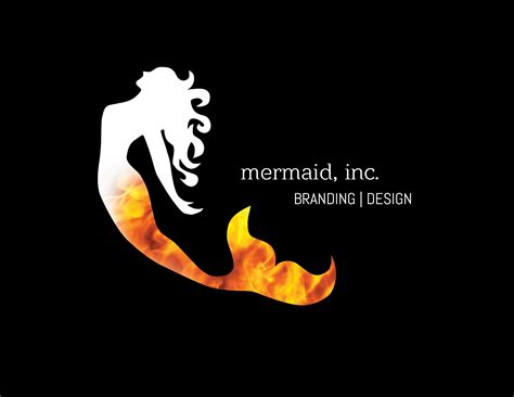 graphis logo design 9 mermaid logo graphis