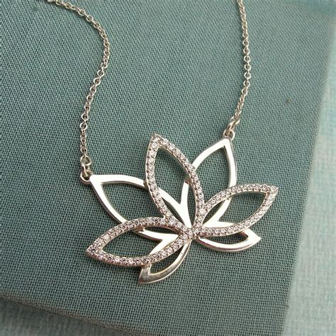 8 best images about lotus flower pendant necklace on