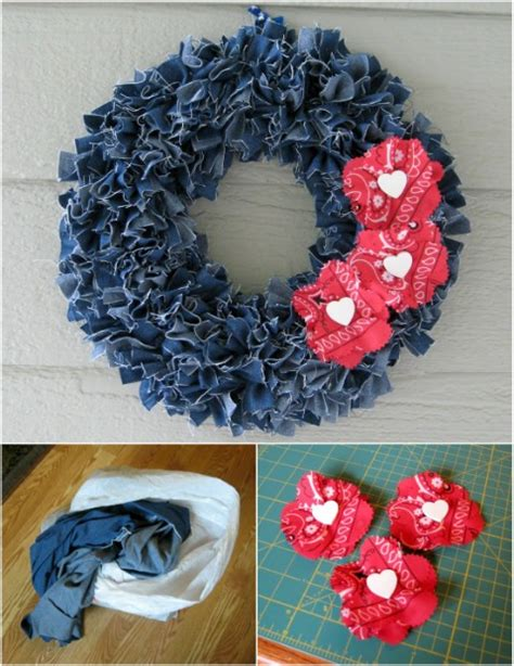 denim crafts projects 40 repurposing projects for that you