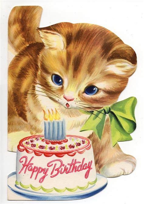 Happy Birthday Cat Cards Free