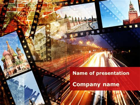 powerpoint templates russia moscow in russia powerpoint template backgrounds 09711