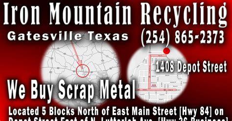 national bank gatesville electronic kiosk services iron mountain recycling