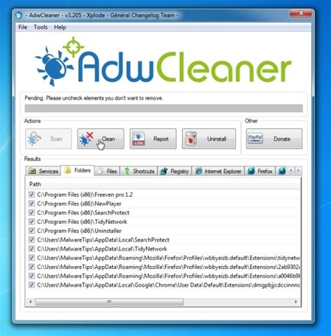 adwcleaner download link is about blank a virus how do i remove about blank