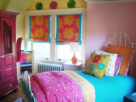 small teen bedroom ideas colorful teen bedrooms hgtv 17347   1400952863695