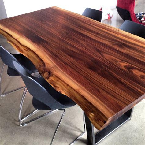 table bois massif noyer wraste