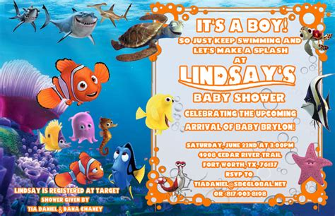 finding nemo baby shower party ideas photo 3 of 14