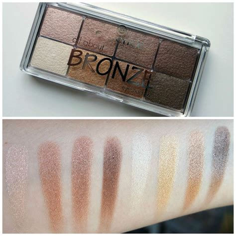 Eyeshadow The Bronze Palette essence all about bronze eye shadow palette 01 bronze