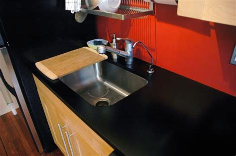 Matte Finish Quartz Countertops matte black counters livemodern your best modern home