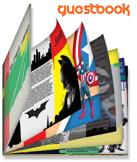 Buku Tamu Buku Daftar Tamu Undangan Guest Book Kenko 2920 cara membuat buku tamu tersembunyi tips triks mempercantik lengkap