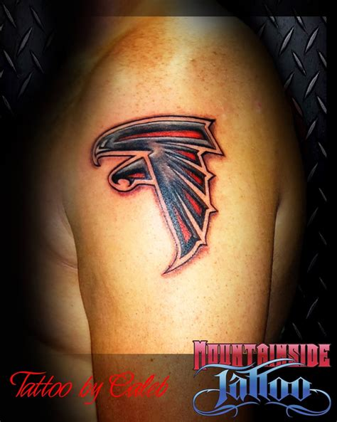 atlanta falcons tattoo atlanta falcons tattoos pictures to pin on
