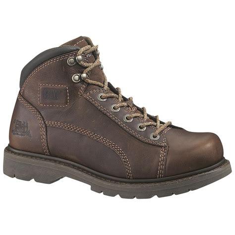 s cat 174 lander steel toe mid work boots 195621