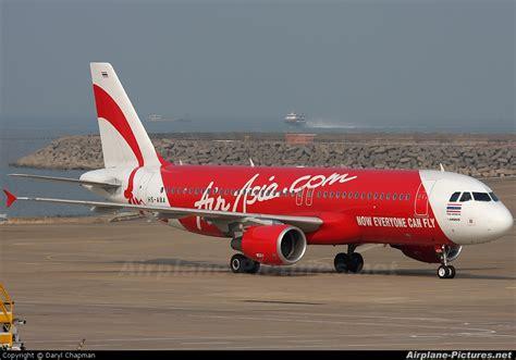 airasia thailand hs aba airasia thailand airbus a320 at macau intl