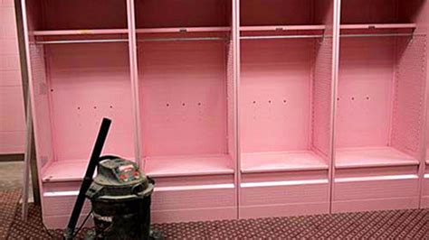 iowa pink locker room penn state readies for iowa and its soothing pink locker room the morning call