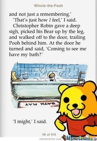 Winnie The Pooh Meme by Winnie The Pooh Memes Best Collection Of Funny Winnie The