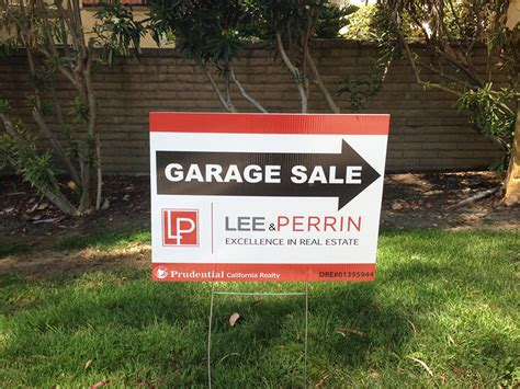 Superior Garage Sale by Commercial Real Estate Signs Residential Real Estate