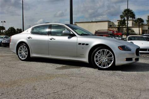 4 Door Maserati Price 2012 Maserati Quattroporte 4 Door Sedan 172430