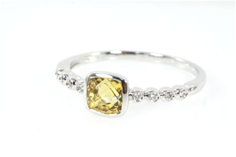 citrine and ring 0 63ct state auctions