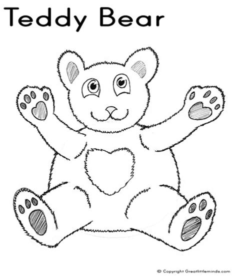 bear coloring pages pdf teddy bear colouring