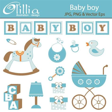 Baby Boy-related Clipart Free Baby Related Clipart