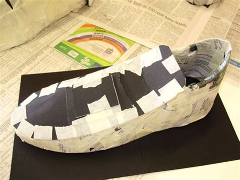How To Make Shoes With Paper - paper shoes what if it rains adelle
