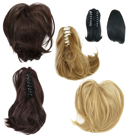 clip in ponytail hair piece wig hair extension search results short ponytail hair extensions synthetic hair wavy claw