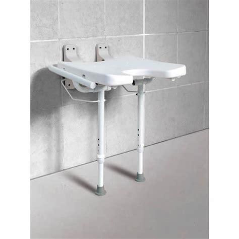 sedie per doccia disabili sedia da doccia installata al muro economy sedili per