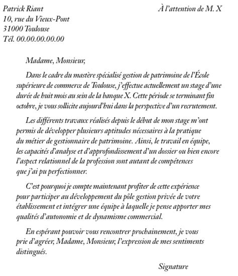 Exemple Lettre De Motivation école De Commerce Post Bac Service Communication Exemple Lettre Motivation Service Communication