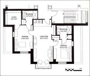 beautiful best two bedroom house plan for hall kitchen two bedroom two bath floor plan