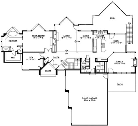 northwest floor plans northwest house plan with walls of glass 23322jd