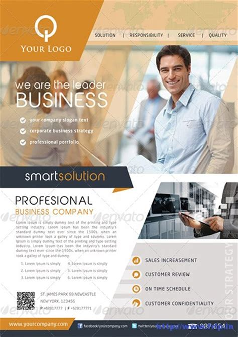 custom flyer templates 145 best corporate business flyers print templates 2015