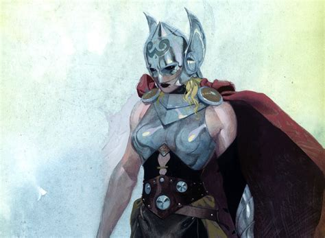 thor s in superhero gender bend marvel unveils thor as a woman