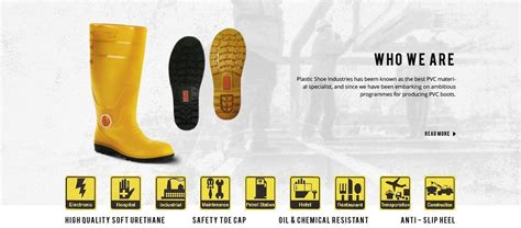 Fahira Shoes Boot Hi White Black Berkualitas 1 industrial pvc safety shoes rubber boots manufacturer in malaysia korakoh
