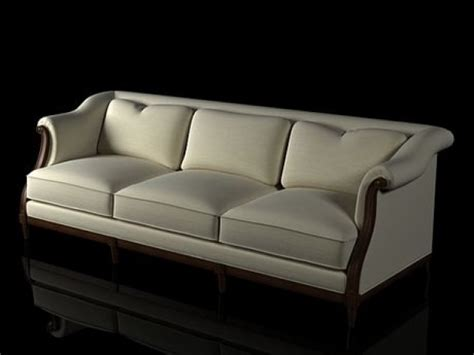 sofas for tall people exposed wood sofas loveseats and exposed wood sofa 3d model baker
