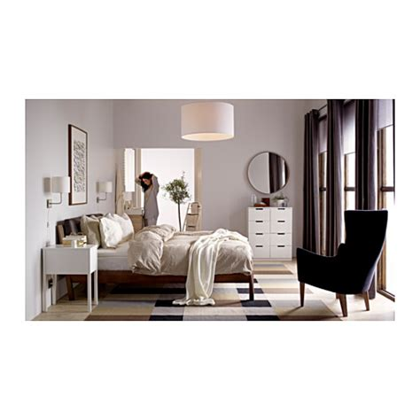 Bett Nordli by Ikea Trysil Bedside Table White Nazarm