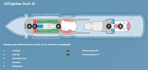 aida panoramakabine aidaprima position ᐅ kabinen bewertungen bugcam