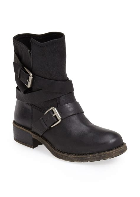 moto boot lucky brand lucky brand dallis moto boot shoes
