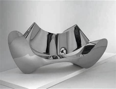 arad stainless steel sofa artnet magazine