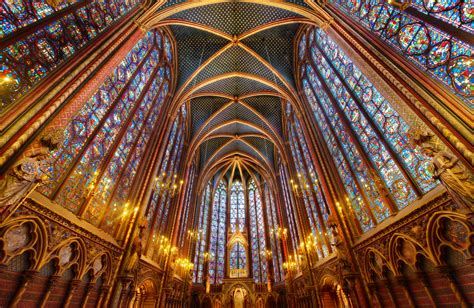 up le sainte chapelle church in thousand wonders