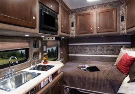 living and working in a bolt custom semi tractor trailer truck