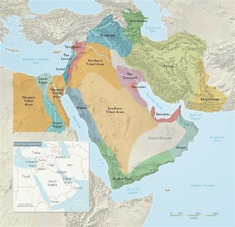 middle east map redrawn how would you redraw the borders of the countries within