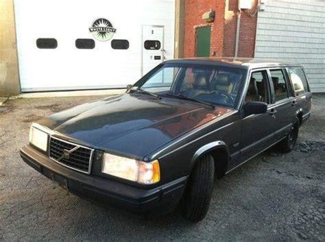 sell used volvo 940 turbo wagon in tewksbury