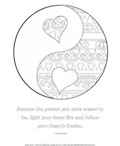 which color is yin free coloring pages coloring journals for healthy living