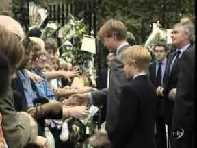Princess diana s death the royal family return to london youtube